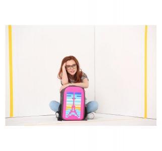 Рюкзак для ноутбука  WY-A009 фуксия Upixel