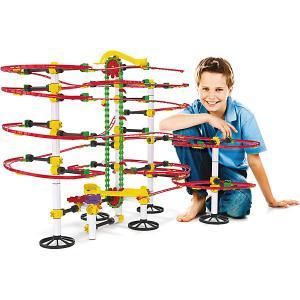 Конструктор-серпантин  Бегущие шарики, 360 деталей Quercetti. Цвет: разноцветный