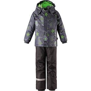 Комплект  : куртка и брюки Lassie. Цвет: светло-зеленый