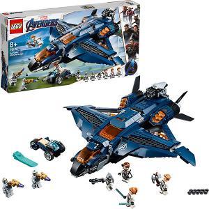 Модернизированный квинджет Мстителей Super Heroes 76126 (10) LEGO