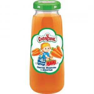 Нектар  морковь, 200 мл Спеленок