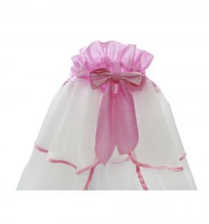 Балдахин Ласковое лето 165 х 420 см, цвет: розовый Soni Kids