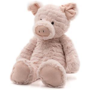 Мягкая игрушка Molli Свинка, 36 см Molly. Цвет: разноцветный