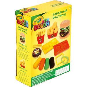 Набор для лепки из теста  Забавный фастфуд Crayola
