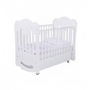 Детская кроватка  Bloom 120х60 маятник поперечный Papaloni