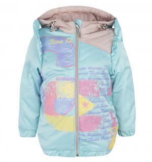 Куртка  Лусия, цвет: бирюзовый/розовый Artel