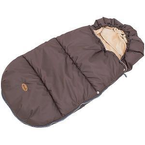 Конверт зимний в коляску , коричневый Mammie. Цвет: коричневый