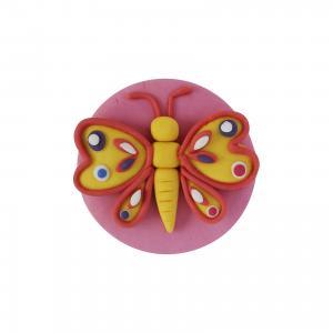 Пластилиновое мыло Бабочка, Art Soap