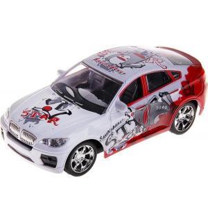 Машинка  BMW, цвет: красный 18 см Пламенный мотор