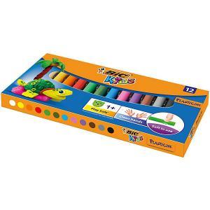 Пластилин  «Kids», 12 цветов BIC. Цвет: разноцветный
