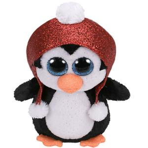 Мягкая игрушка TY Пингвин Гейл, 15 см. Цвет: altrosa/schwarz