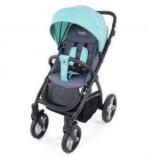 Прогулочная коляска  Modo Terreno, цвет: бирюзовый/серый Nuovita