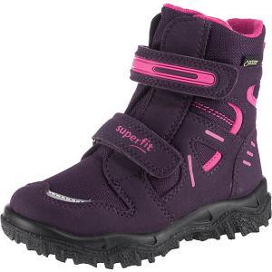 Утепленные ботинки Superfit. Цвет: лиловый