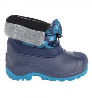 Сноубутсы  Ivalo, цвет: синий Reima