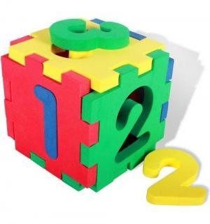 Кубик  Цифры, 10 см Бомик
