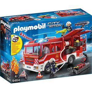 Игровой набор Playmobil «Пожарная служба: пожарная машина с водометом» PLAYMOBIL®