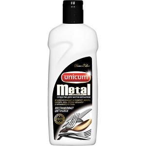 Средство  Metal для чистки изделий из драгоценных и цветных металлов, 380 мл Unicum