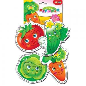 Пазл  Овощи Дрофа-Медиа