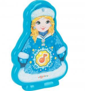 Интерактивная игрушка  Снегурочка 11.5 см Азбукварик