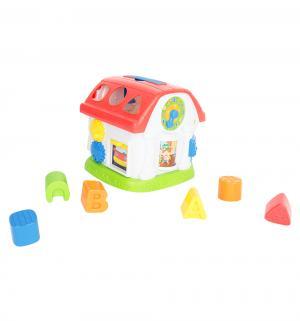 Развивающая игрушка  Домик-сортер, свет+звук, 18 см Winfun