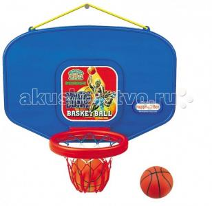 Детское баскетбольное кольцо с мячом JM-603 Happy Box