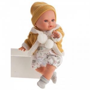 Кукла Инесса в желтом озвученная 30 см Munecas Antonio Juan