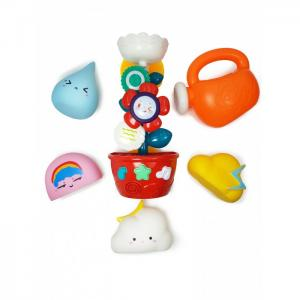 Набор игрушек для ванной В саду с Мельницей и Формочками ЯиГрушка