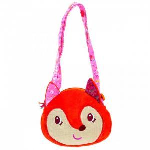 Лиса Алиса мягкая сумочка через плечо Lilliputiens