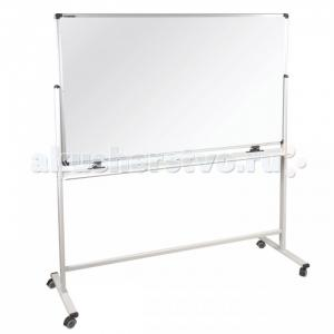 Доска магнитно-маркерная Premium двусторонняя на стенде 100х150 см Brauberg