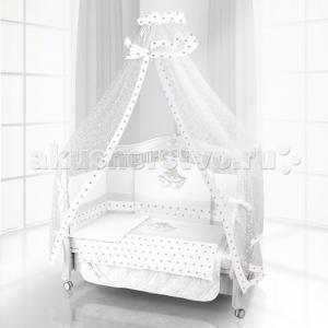 Комплект в кроватку  Unico Smile 120х60 (6 предметов) Beatrice Bambini