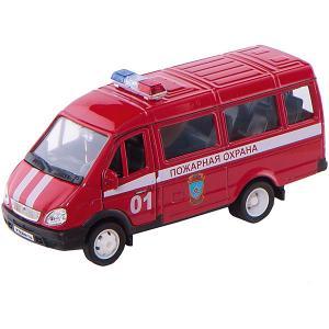 Модель машины ГАЗель Пожарная охрана Welly