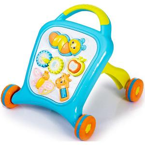 Игрушка-каталка  Move&Play Farm blue Baby Hit. Цвет: голубой