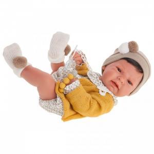 Кукла Элис в желтом 42 см Munecas Antonio Juan