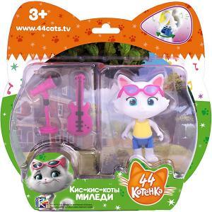 Игровой набор  44 котёнка Миледи с аксессуарами, 7,5 см Rainbow. Цвет: белый