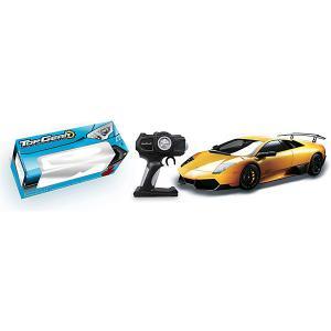 Радиоуправляемая машинка 1toy  Lamborghini 670 жёлтый, 1:14 Top Gear. Цвет: разноцветный