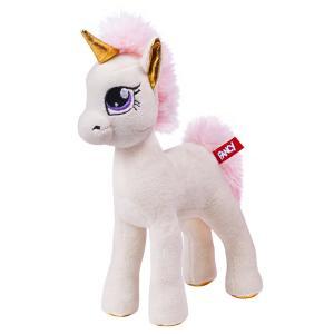 Мягкая игрушка  Единорог Молли 28 см цвет: розовый Fancy