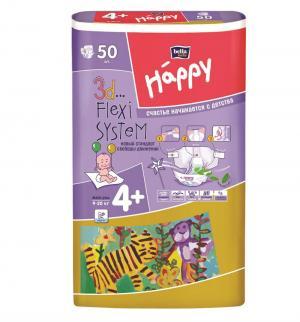 Подгузники  Maxi Plus 4+ (9-20 кг) 50 шт. Bella Baby Happy