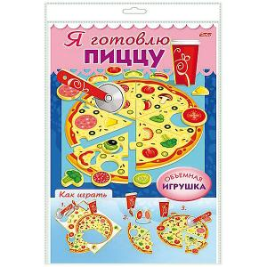 Игра-конструктор объемная Хатбер-Пресс «Сделай сам! Я готовлю пиццу» Hatber