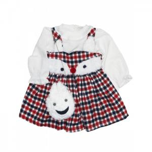 Комплект для девочки (сарафан, кофта, сумка) 3230 Baby Rose