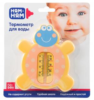 Термометр  Черепашка для воды Ням-Ням