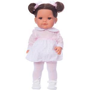 Кукла  Андреа, 38 см Munecas Antonio Juan. Цвет: розовый