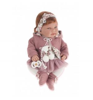 Кукла  Саманта в розовом 40 см Juan Antonio