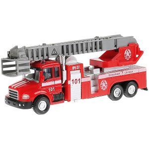 Машинка Технопарк Пожарная машина, 15,5 см. Цвет: красный