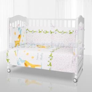 Комплект в кроватку  Bambi (6 предметов) Eco Line
