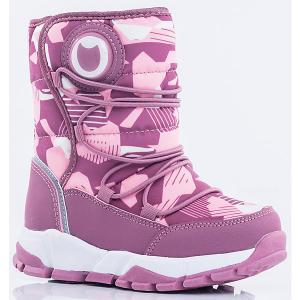 Утеплённые сапоги Котофей. Цвет: блекло-розовый