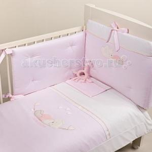 Комплект в кроватку  Mimmi (4 предмета) аппликация Picci
