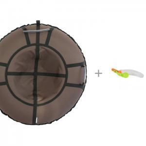 Тюбинг  Хайп 90 см и 1 Toy Снежколеп 2 в Hubster