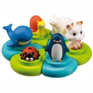 Игрушка-пазл для ванны Остров 523413 Vulli