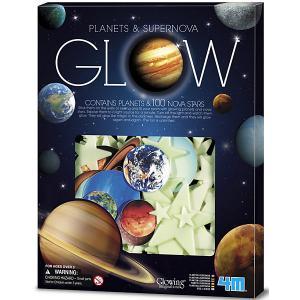 Набор для творчества  Светящиеся планеты и сверхновые звёзды 4M. Цвет: разноцветный