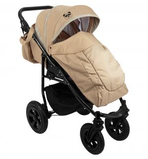 Прогулочная коляска  Panda, цвет: бежевый Prampol